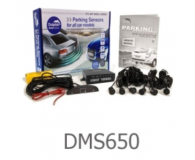 DMS650 - Micro Dolphin Display Reverse Parking Sensors