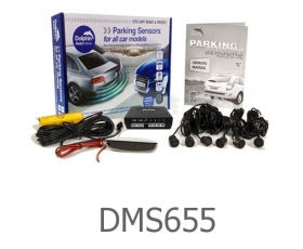 DMS655 - Micro Dolphin Roof Display 6 Sensor Reversing Kit