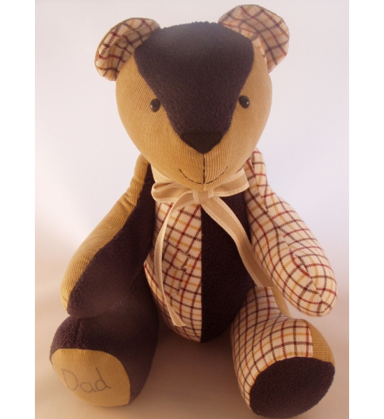 'Memorial'  Keepsake bear