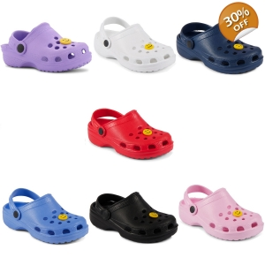 New Kids Girls Boys Summer Beach Clogs Sandals S..