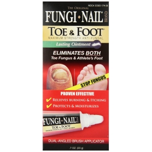 Fungal Treatment Toe Fungus Athletes Foot Fungi Nail Ointment