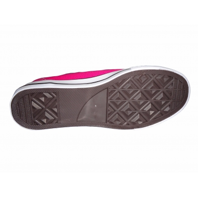 Girls Pink Canvas Trainers Low-Tops