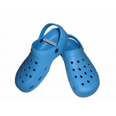 Blue Clogs Beach Shoes Camping Slip On Sandals Flip Flops Cloggis