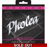 Pholea Nikel Wound  Super Light Guitar..