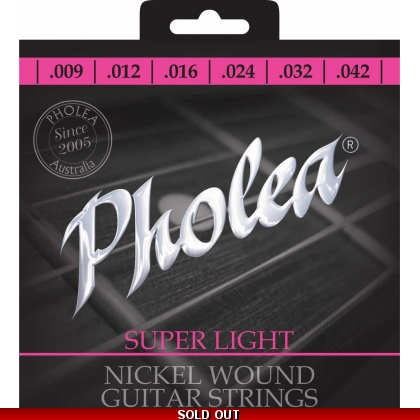 Pholea Nikel Wound  Super Light Guitar Strings