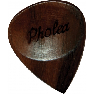 Pholea Timber Ebony Guitar Pick
