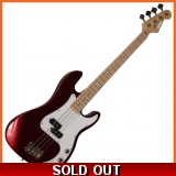 Pholea Bass Guitar Red