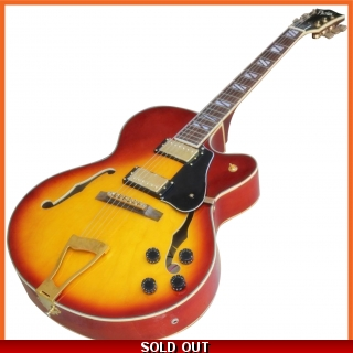 Pholea Hollow Body Jazz Guitar PJ-L5SB