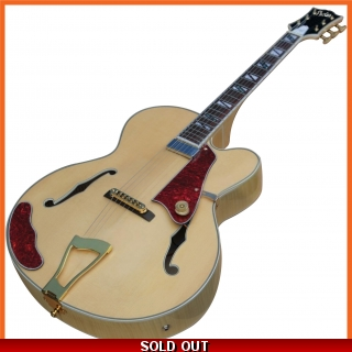 Pholea Hollow Body Jazz Guitar PJ-L5NL
