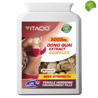 Dong Quai Extract Complex 5000mg Max Strength Upto 5 Months Supply