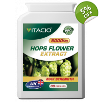 Hops Flower Extract 5000mg Max St..