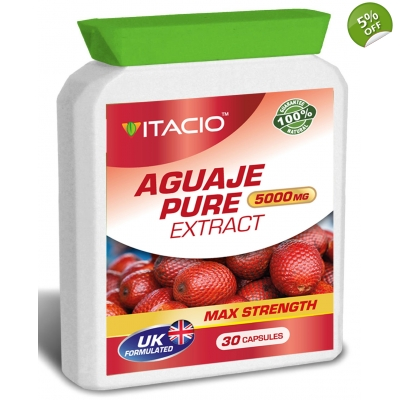 Aguaje Pure 5000mg Max Strength Upto 5 Months Supply