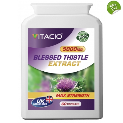 Blessed Thistle Extract 5000mg Max Strength Upto 5 Months Supply