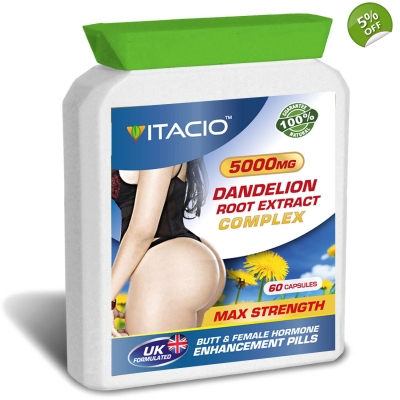 Dandelion Root Extract Complex 5000mg Max Strength