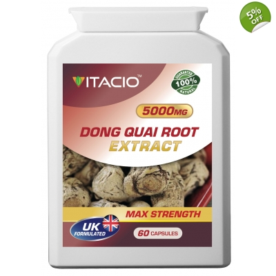 Dong Quai Extract 5000mg Max Strength Upto 5 Months Supply