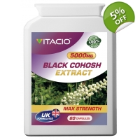 Black Cohosh Extract 5000mg Max S..