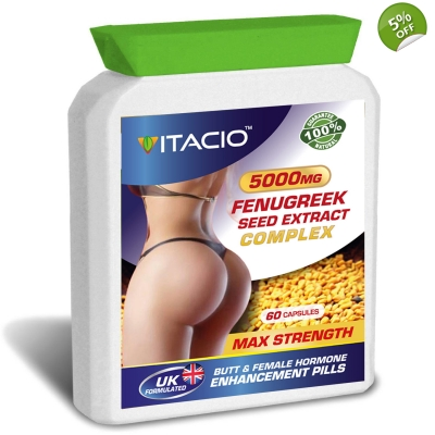 Fenugreek Seed Extract Complex 5000mg Max Strength