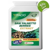 Saw Palmetto Berries Extract 5000..