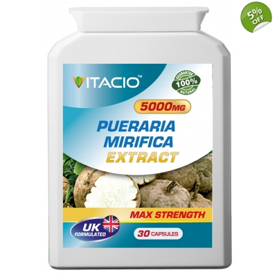 Pueraria Mirifica Extract 5000mg Max Strength Upto 5 Months Supply
