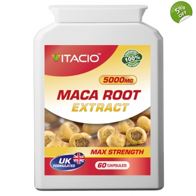 Maca Root Extract 5000mg Max Strength Upto 5 Months Supply