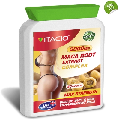 Maca Root Extract Complex 5000mg Max Strength Upto 5 Months Supply