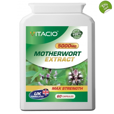 Motherwort Extract 5000mg Max Strength Upto 5 Months Supply