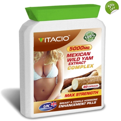 Mexican Wild Yam Extract Complex 5000mg Max Strength