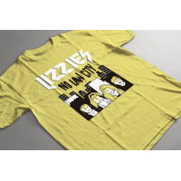 'No Law City' Yellow Tee