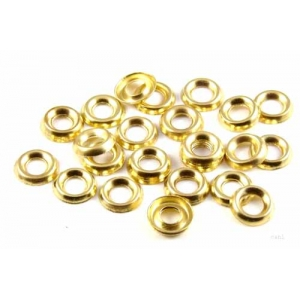 No 4-5 Surface Cup Washers Brass Plated