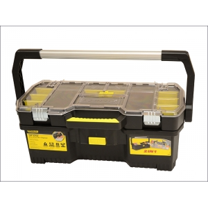 Toolbox With Tote Tray Organiser 61cm ..