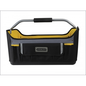 Open Tote Tool Bag with Rigid Base 20in