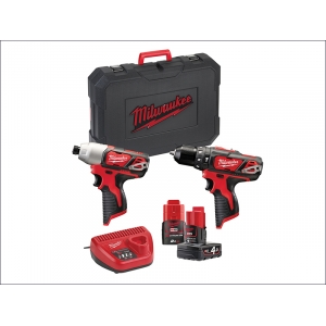 Compact Twin Pack 12 Volt 1 x 4.0Ah & ..