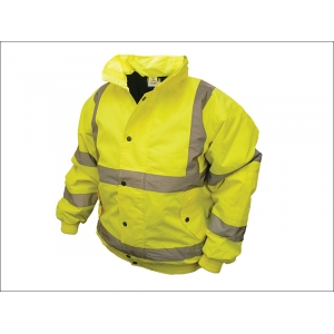 Hi-Vis Bomber Jacket Yellow