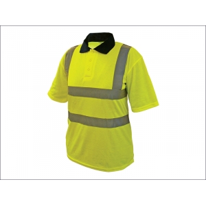 Hi-Vis Yellow Polo Shirt