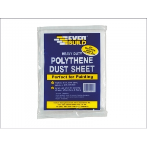Polythene Dust Sheet 3.6 x 2.7m