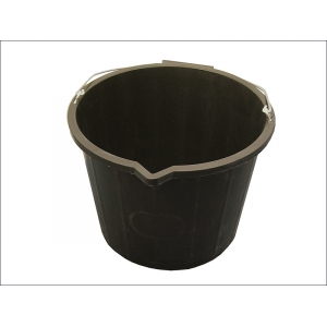 3 Gallon 14 Litre Bucket - Black
