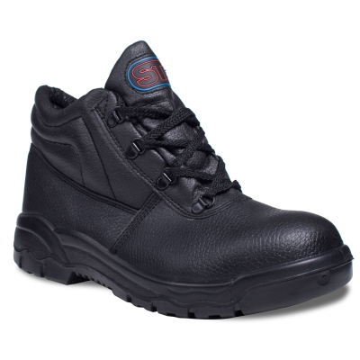 Black Safety Chukka Boots title=