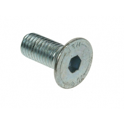 200 - M6 x 10 Countersunk Socket Screws BZP title=