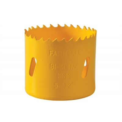 56mm Faithfull Varipitch Holesaw title=