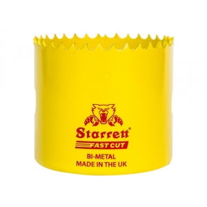 22mm Starrett Fast Cut Bi-Metal Holesaw