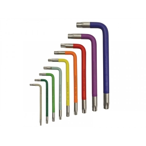 Star Key Coloured Arm Set of 9