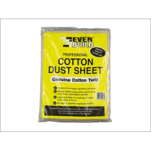 Cotton Dust Sheet ..
