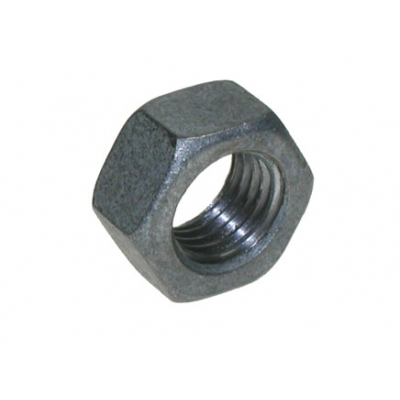Qty 100 - M10 Hexagon Nuts Galv title=