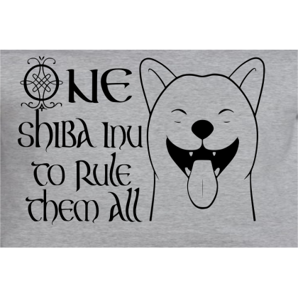 One Shiba To Rule Them All T-Shrt