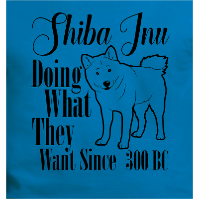 Shiba Inu Do What They Want ..