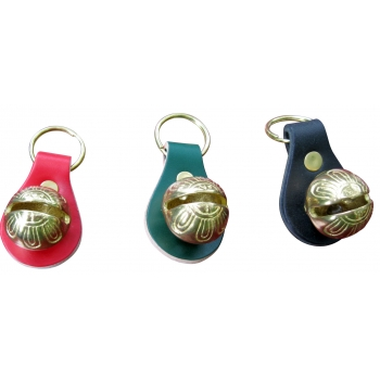 RED OR GREEN KEY RINGS WITH ..