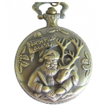 SANTA POCKET WATCH..