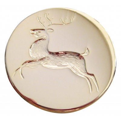 "1 3/4"" REINDEER BROOCH PIN"