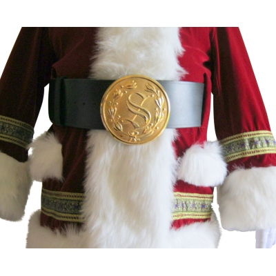 "5 1/2"" BRIGHT GOLD  BUCKLE - FITS 4"" BELT"