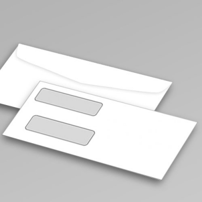 No.9 Double Window Envelope
